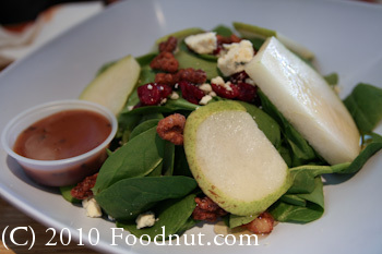 Rave Burger San Mateo Pear Salad