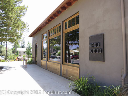 Redd Wood Yountville exterior decor