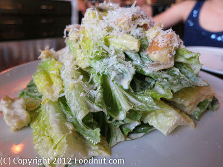 Redd Wood Yountville romaine salad