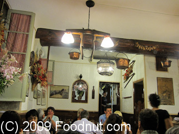 Restaurant Acchiardo Nice France Interior Decor