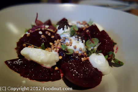 Rich Table San Francisco Beets