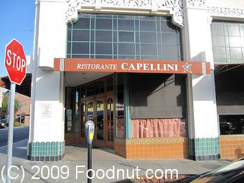 Capellini Restaurant San Mateo Ca