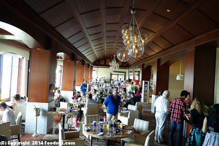 Navio Ritz Carlton Half Moon Bay Sunday Brunch Buffet Interior decor