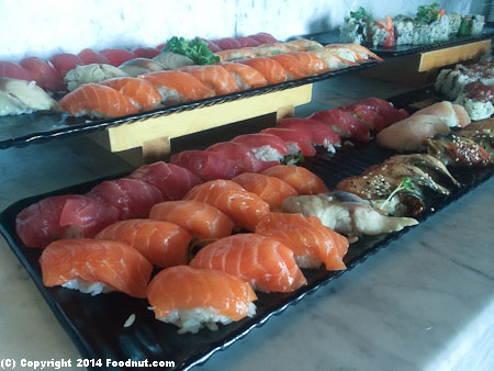 Navio Ritz Carlton Half Moon Bay Sunday Brunch Buffet Sushi sashimi