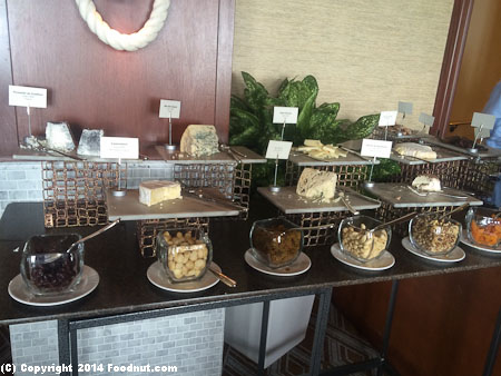 Navio Ritz Carlton Half Moon Bay Sunday Brunch Buffet cheese