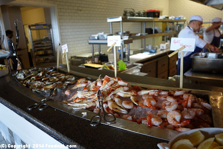 Navio Ritz Carlton Half Moon Bay Sunday Brunch Buffet Seafood
