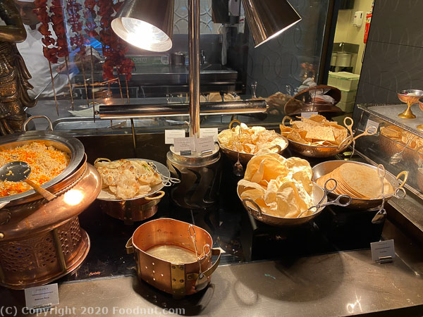 Ritz Carlton Singapore Colony Buffet Indian food