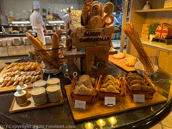Ritz Carlton Singapore Colony Buffet bread station