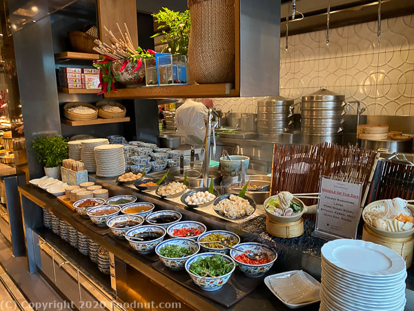 Ritz Carlton Singapore Colony Buffet noodle station