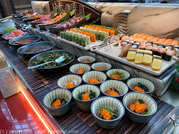 Ritz Carlton Singapore Colony Buffet sushi sashimi