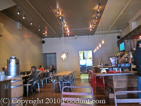 Roam Artisan Burgers San Francisco interior decor