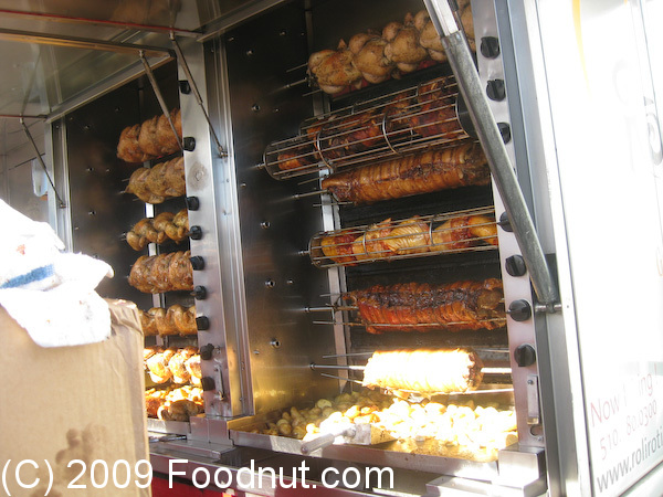 ... huge rotisserie. The place had a line most of the time we were there
