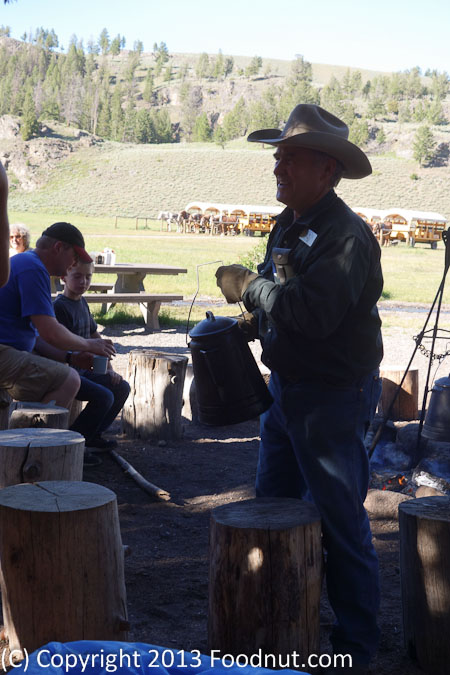 Roosevelt Cookout Yellowstone National Park cowboy coffee