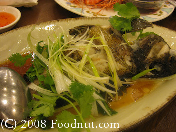 Saigon Seafood Harbor Steamed Rock Cod