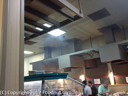 San Bruno Korean BBQ interior decor smoke
