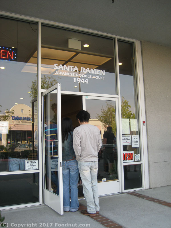 Santa Ramen Review, San Mateo