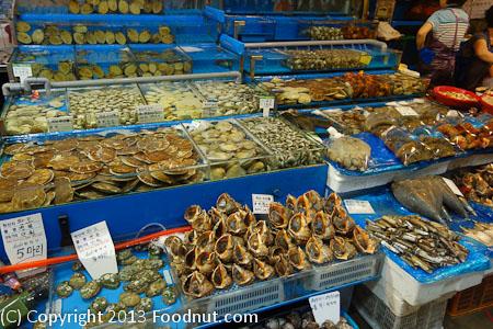 Seoul noryangjin fish market seoul korea for San francisco fish market