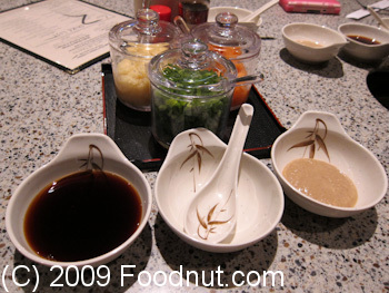 Shabu House Burlingame Dipping Sauce