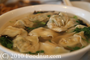 Shanghai East San Mateo Vegetable and Pork Wonton