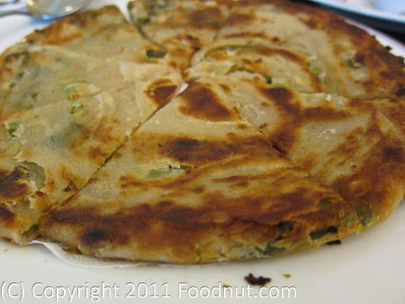 Shanghai Winter Garden green onion pancake