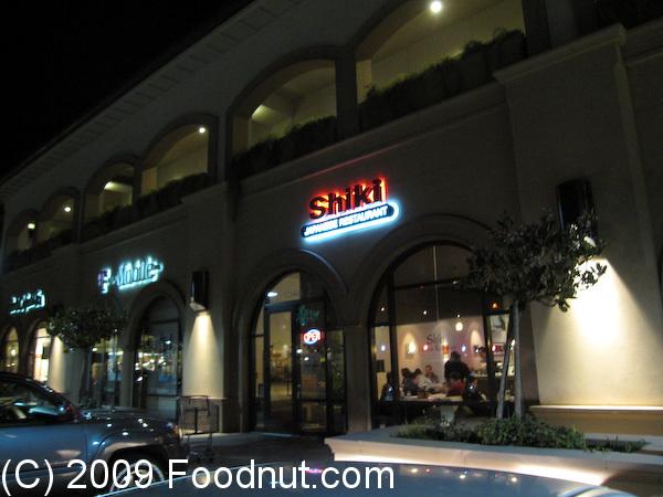 Shiki Japanese Restaurant San Mateo Ca