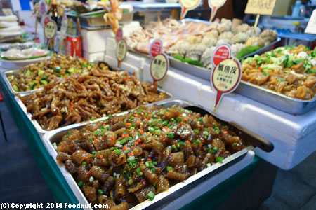Shilin Night Market Taipei street food