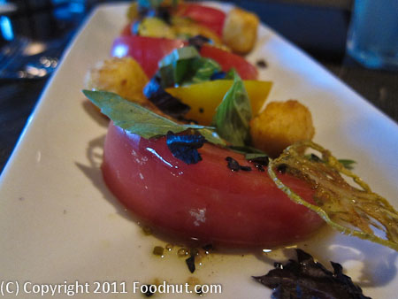 Six Peaks Grille Squaw Valley Tomato Salad