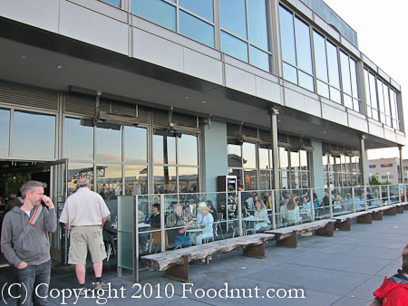 Slanted Door San Francisco exterior decor