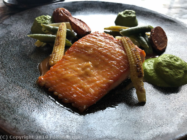 Sorrel San Francisco king salmon