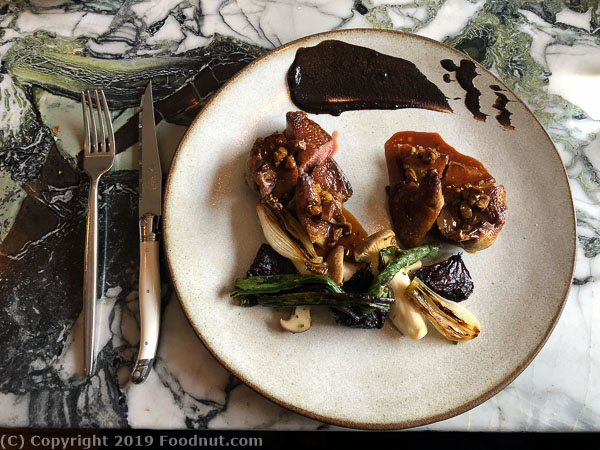 Sorrel San Francisco squab