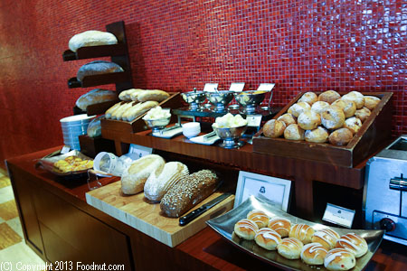St Regis Boneka Sunday Brunch Buffet Bali bread assortments