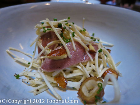 State Bird Provisions San Francisco duck salad