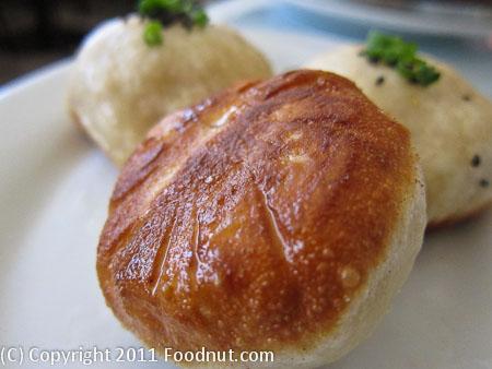 Shanghai Pan Fried Rice Cake