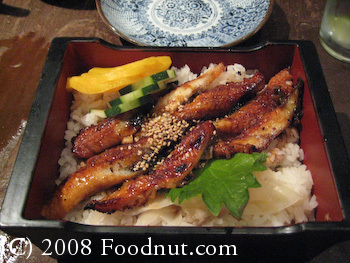 Sushi Main Street Half Moon Bay Unagi Don