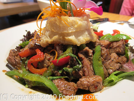 Sweet Basil Thai Cuisine Foster City Volcanic beef
