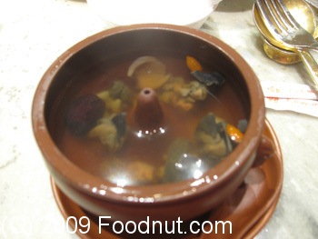 Taiwan Hotel Imperial Restaurant Beijing China Chicken Soup