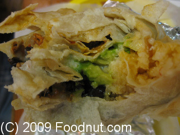 Taqueria Cancun San Francisco Chorizo Super Burrito