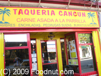 Taqueria Cancun San Francisco Front