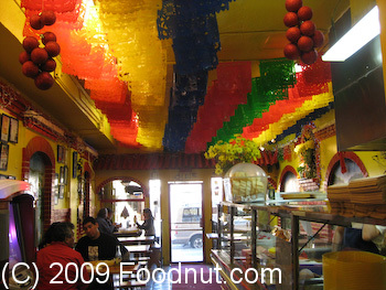 Taqueria Cancun San Francisco Interior