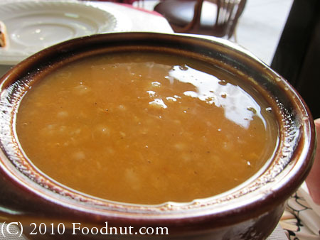Taste In Burlingame cracked wheat soup