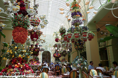 Wynn Buffet Las Vegas interior decor