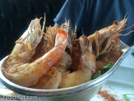 The Cavalier San Francisco boat of prawns