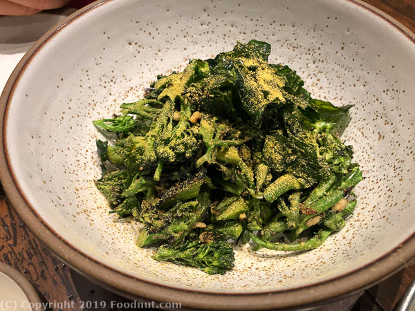 The Charter Oak St Helena Broccoli salad