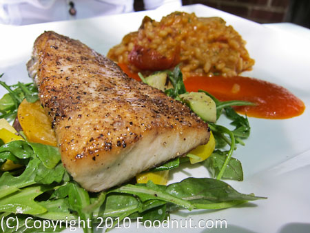 The Firehouse Sacramento mahi mahi fish entree