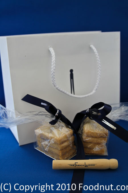 The French Laundry Yountville Bag Clothes pin Short bread