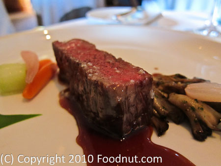 The French Laundry Yountville Calotte de Boeuf Grille Grilled Steak
