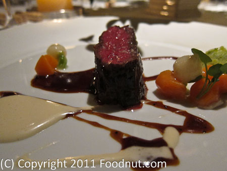 The French Laundry Yountville Calotte de boeuf