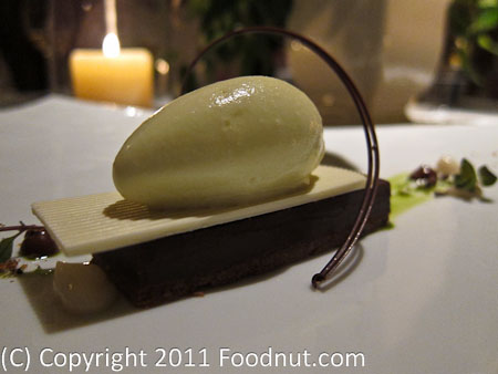 The French Laundry Yountville DELICE AU CHOCOLAT À LA MENTHE