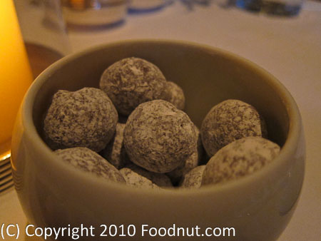 The French Laundry Yountville Mignardises Chocolate Macadamia nuts