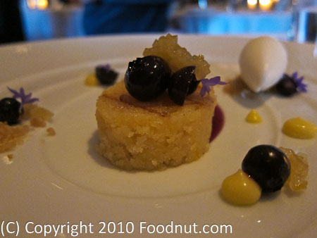 The French Laundry Yountville Pane di Ricotta alla Griglia Pound cake